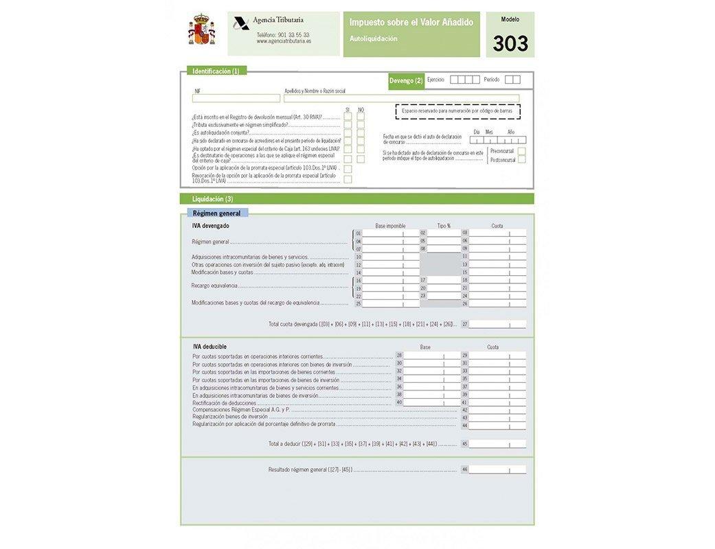 IVA Tax Model 303 Castellana Consultores