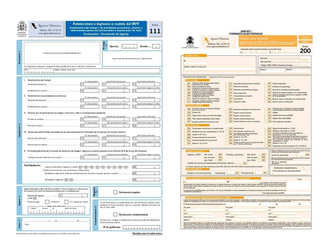 Income Tax Model 111 Castellana Consultores